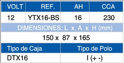 DTX16
